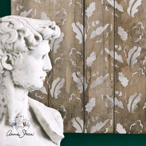Annie Sloan Schablone Oak Leaves
