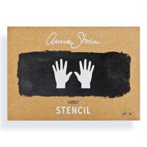 Annie Sloan Schablone Hands