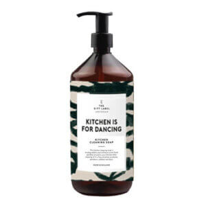 Kitchen cleaning soap-Kitchen is for dancing