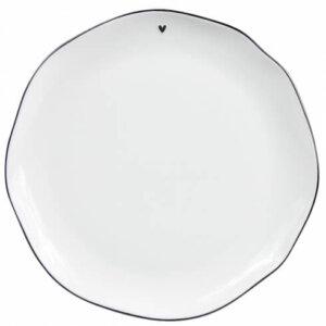 Platte schwarz