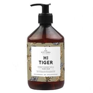 hand soap hi tiger the gift label