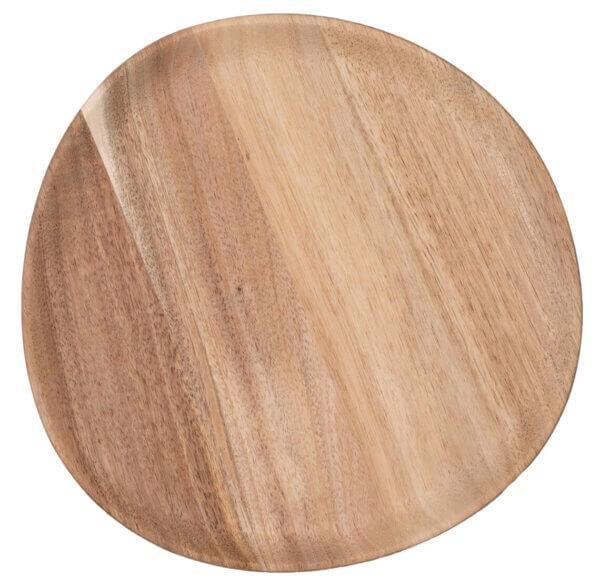 Akazienholzteller von Räder Design, Serie Mix&Match