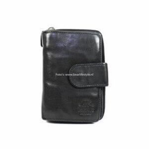 Portemonnaie von bear design, schwarz