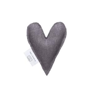 Lavendelherz grau
