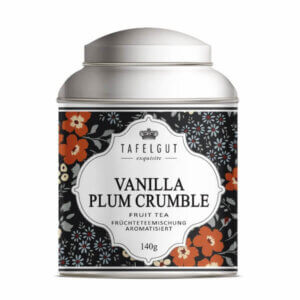 Vanilla Plum Crumbel Tea von Tafelgut