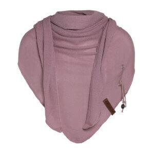 Lola Dreieckstuch alt rosa