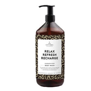 Body wash relax, refresh, recharge