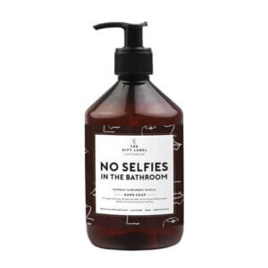 Hand Soap von The gift Label, No selfies in the bathroom