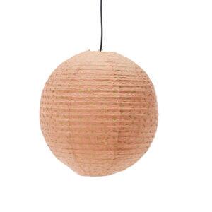Lampenschirm aus Lokta Papier