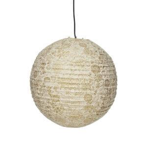 Lampenschirma aus handgeschöpftem Lokta Papier