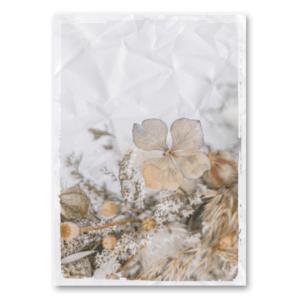 Canvas Trockenblumen