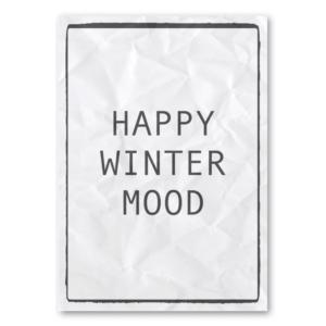 Canvas Happy Winter Mood