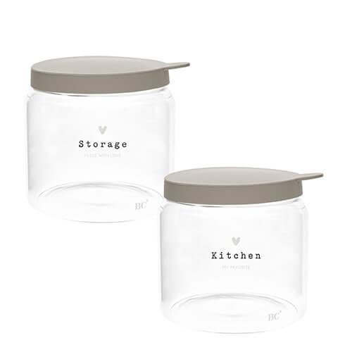 Vorratsdose Glas Klein Storage