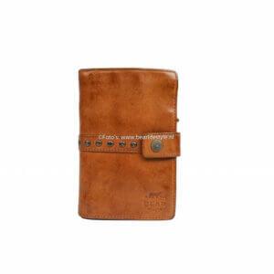 Portemonnaie von bear design mit Nieten und Reissverschluss