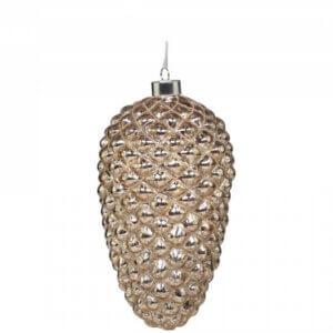 Weihnachts-Zapfen mit LED Beleuchtung, gross