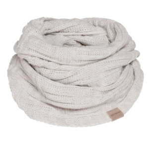 knit factory bobby beige loopschal