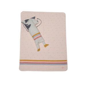 David Fussenegger Decke in Puppe Einhorn