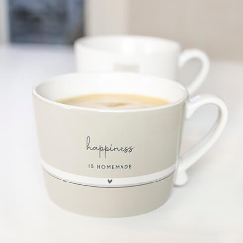 Tasse Happiness is Homemade Bastion Collections