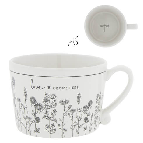 Tasse Love grows here bastion collections