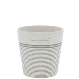 tasse have a good day beige bastion collections grau