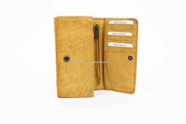 Portemonnaie Bear Design Leder