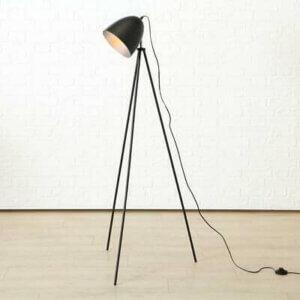 Boltze Stehlampe Eisen schwarz