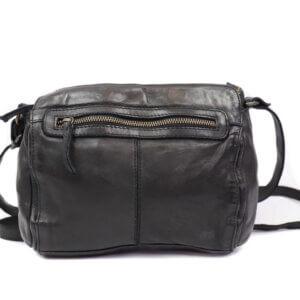 olivia schwarz Bear Design Leder Tasche