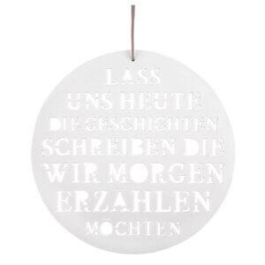 Poesiebild Räder Design Geschenkartikel Porzellan
