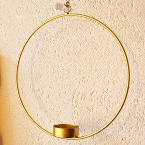 Madleys teelichterhalter gold