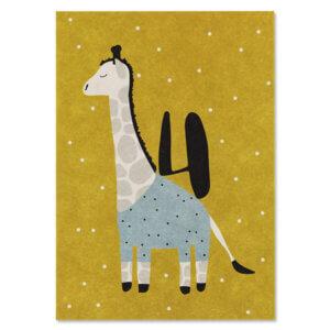 Card Postkarte Ava & Yves Giraffe