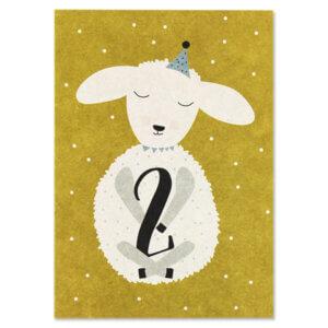 Card Postkarte Ava & Yves Lamm