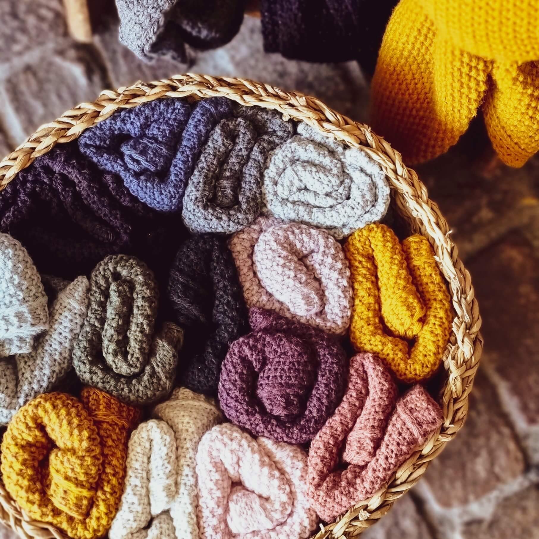 Coco Knit Facotry Coco Herbst WInter Dreieckschal