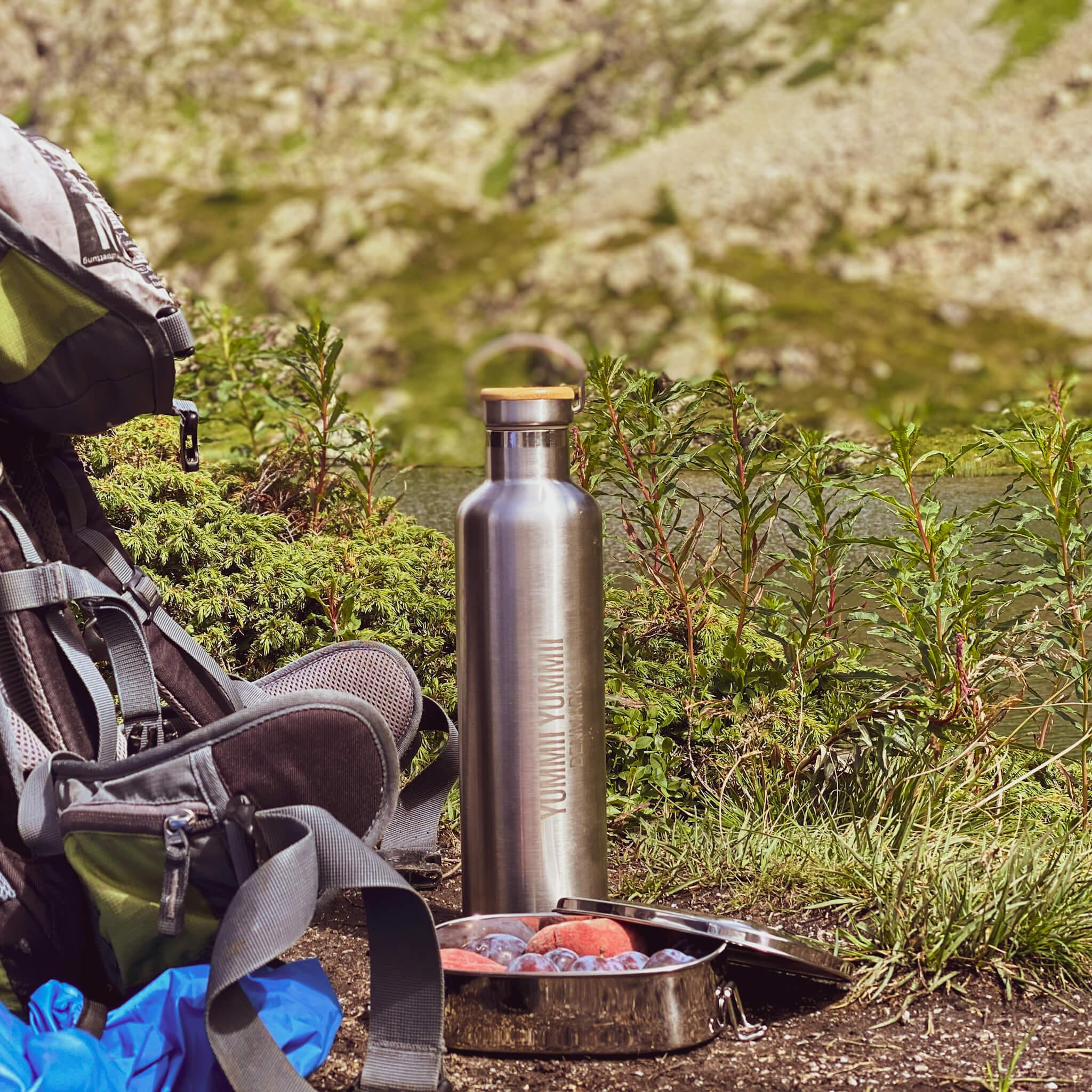 Bento Box Soul Bottle Wanderung Ausflug