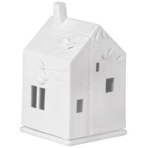 Lichthaus Räder Design Weiss Porzellan BaumhausTeelicht Windlichter